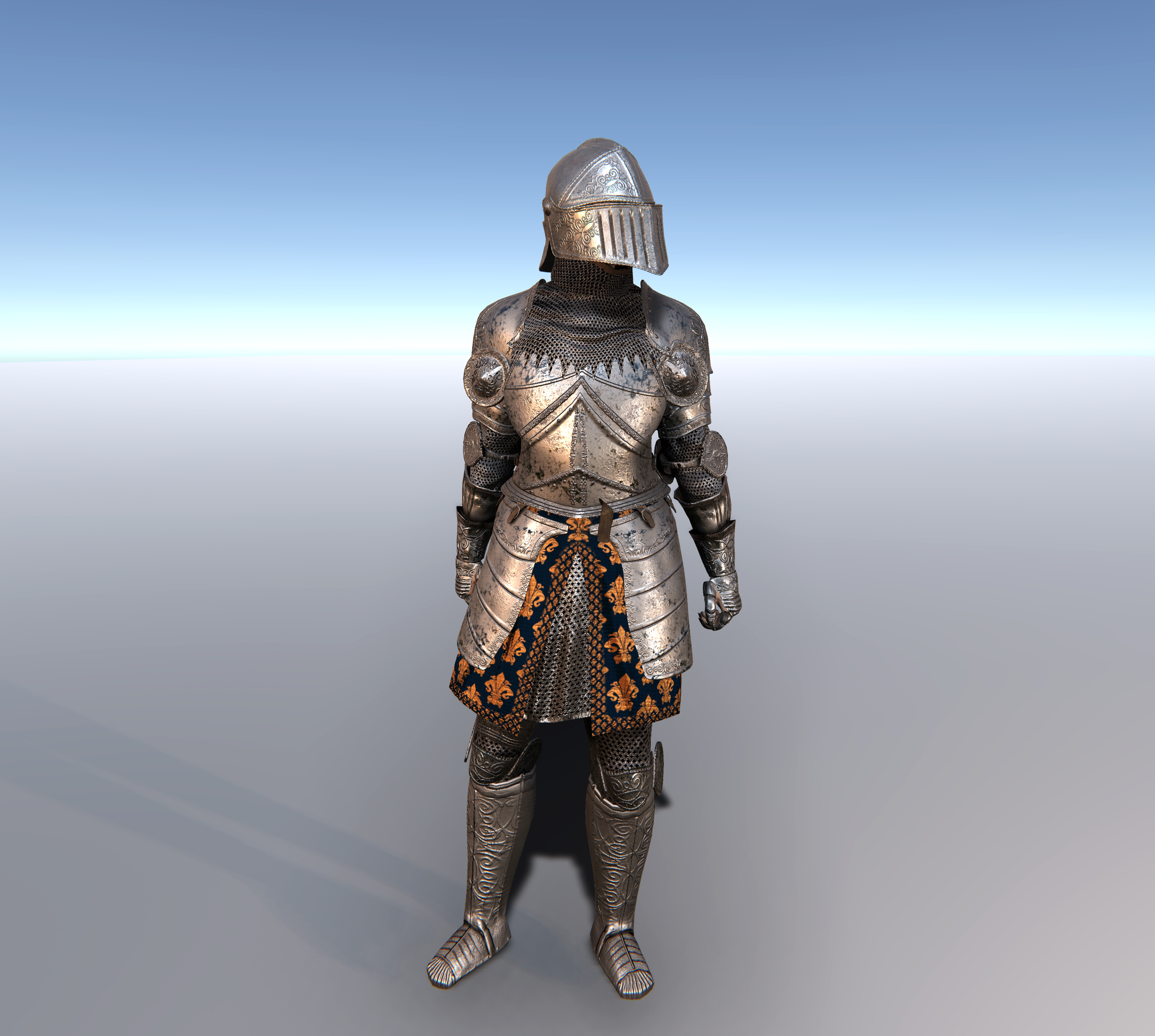 FEMALE KNIGHT CUSTOMISABLE MODULAR Character for UMA