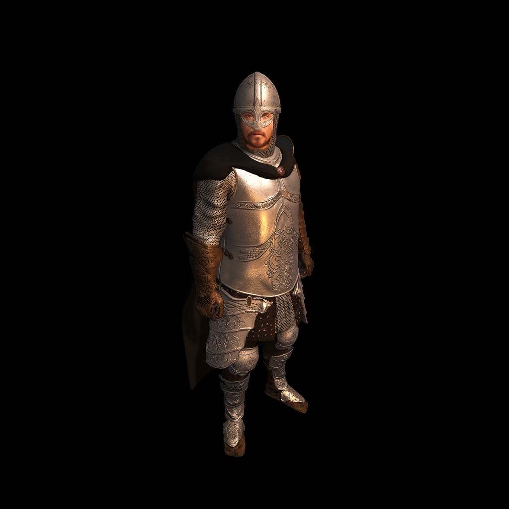 Medieval Knight G for UNITY