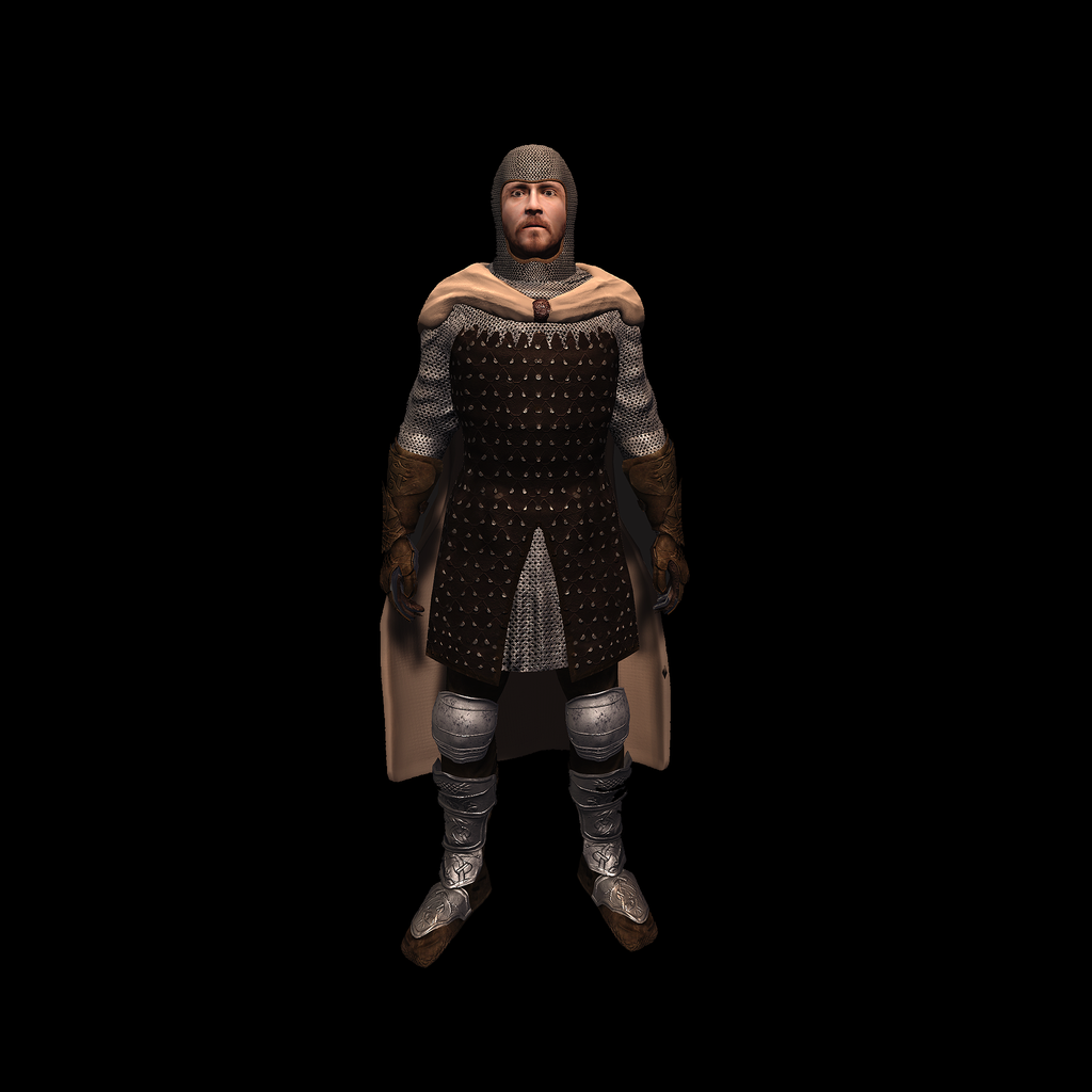 Medieval Knight H for UNITY