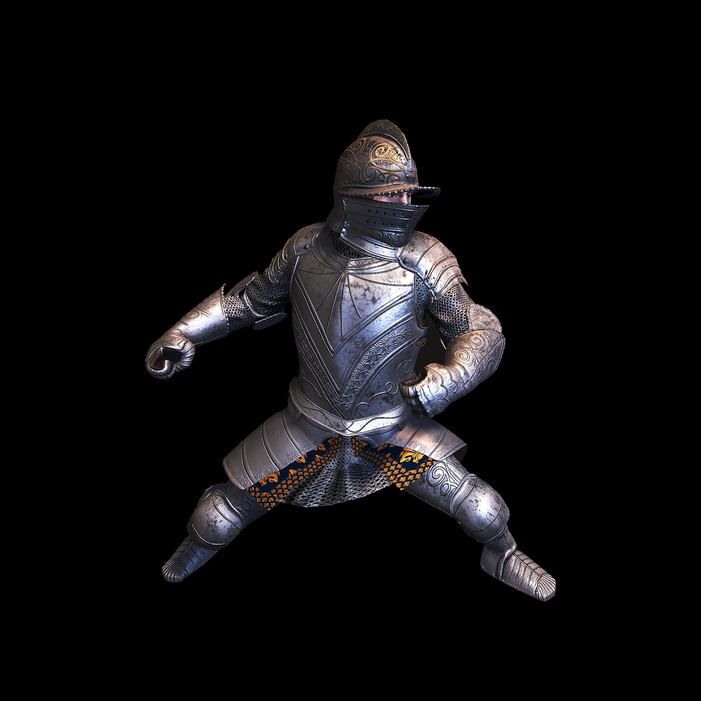 Medieval Knight I for UNITY