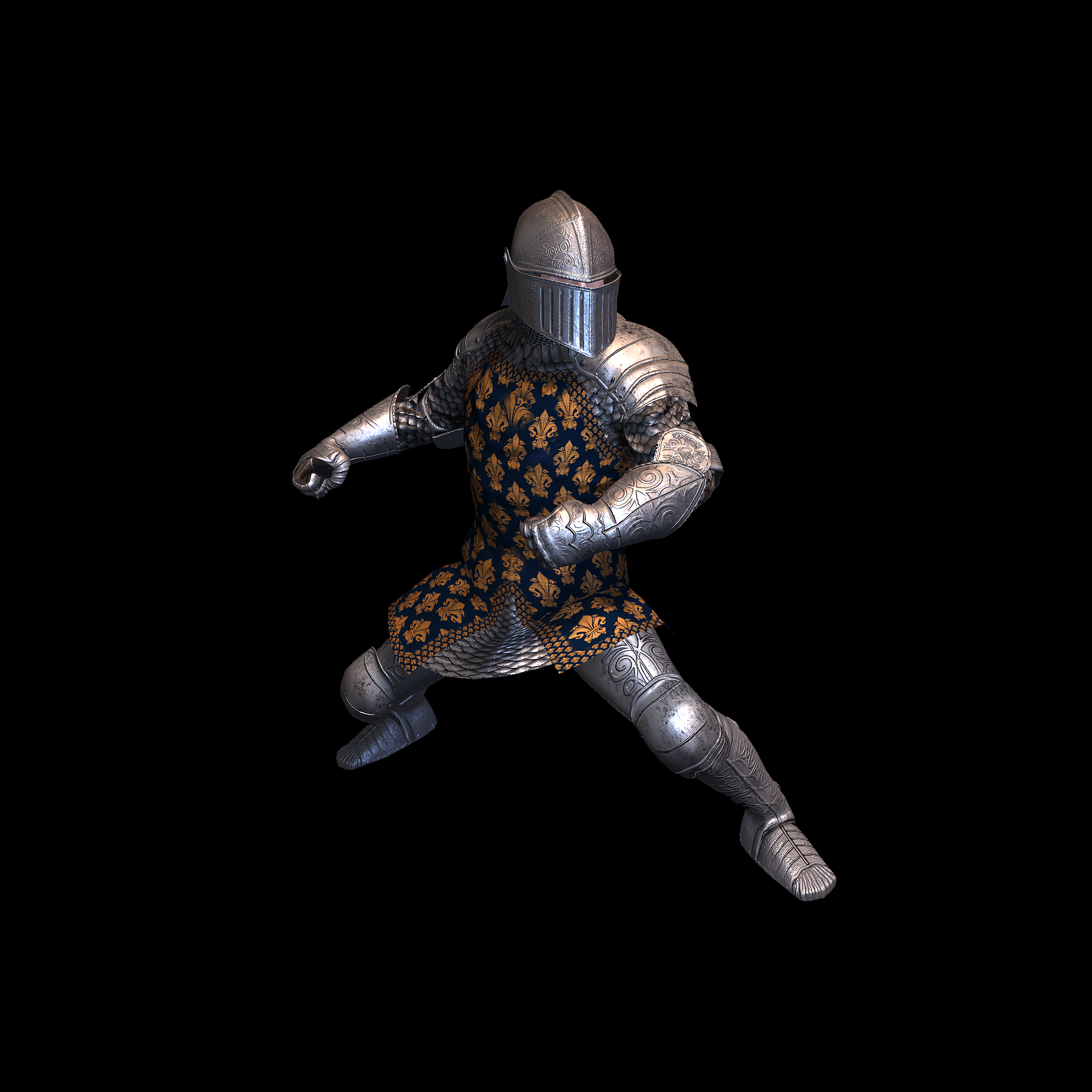 Medieval Knight J for UNITY