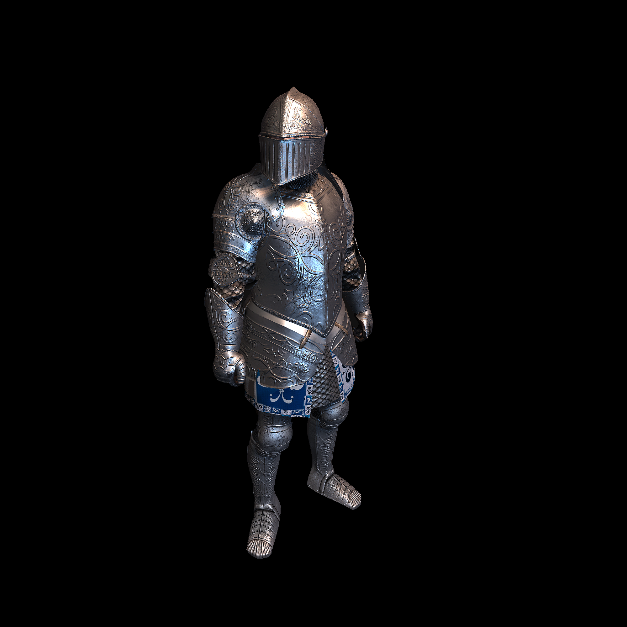 Medieval Knight K for UNITY