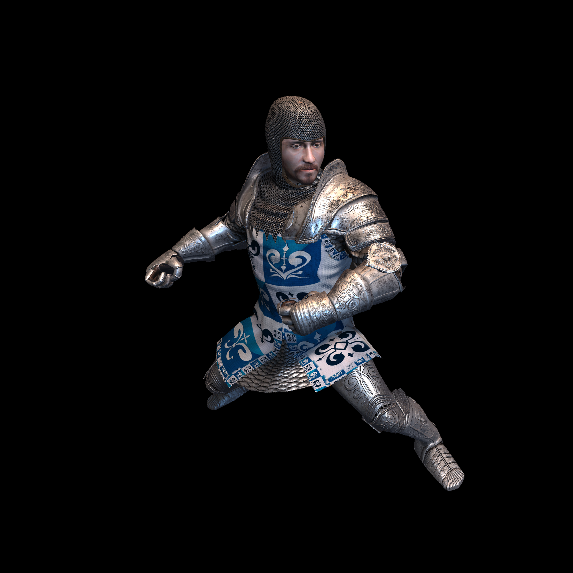 Medieval Knight L for UNITY