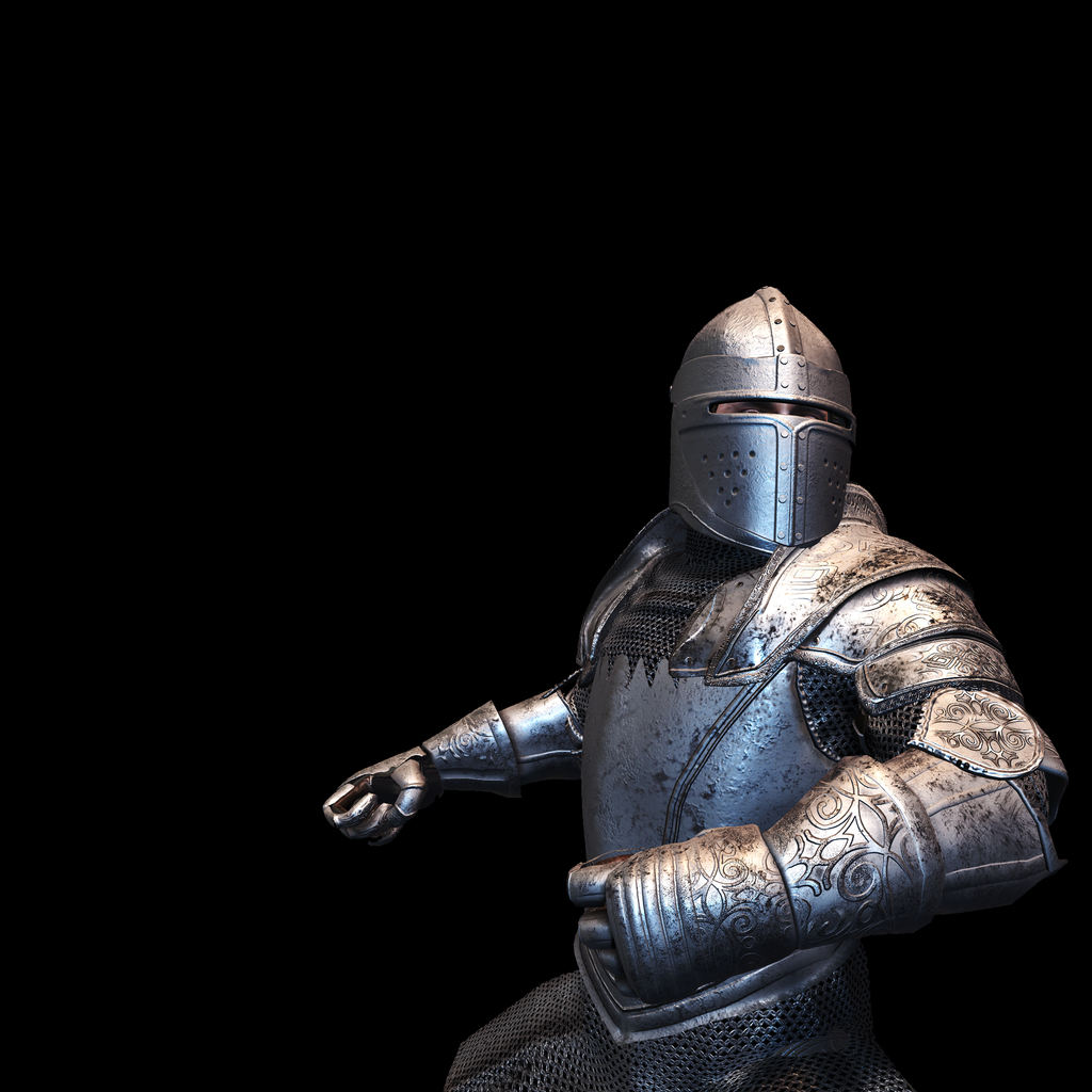 Medieval Knight M for UNITY