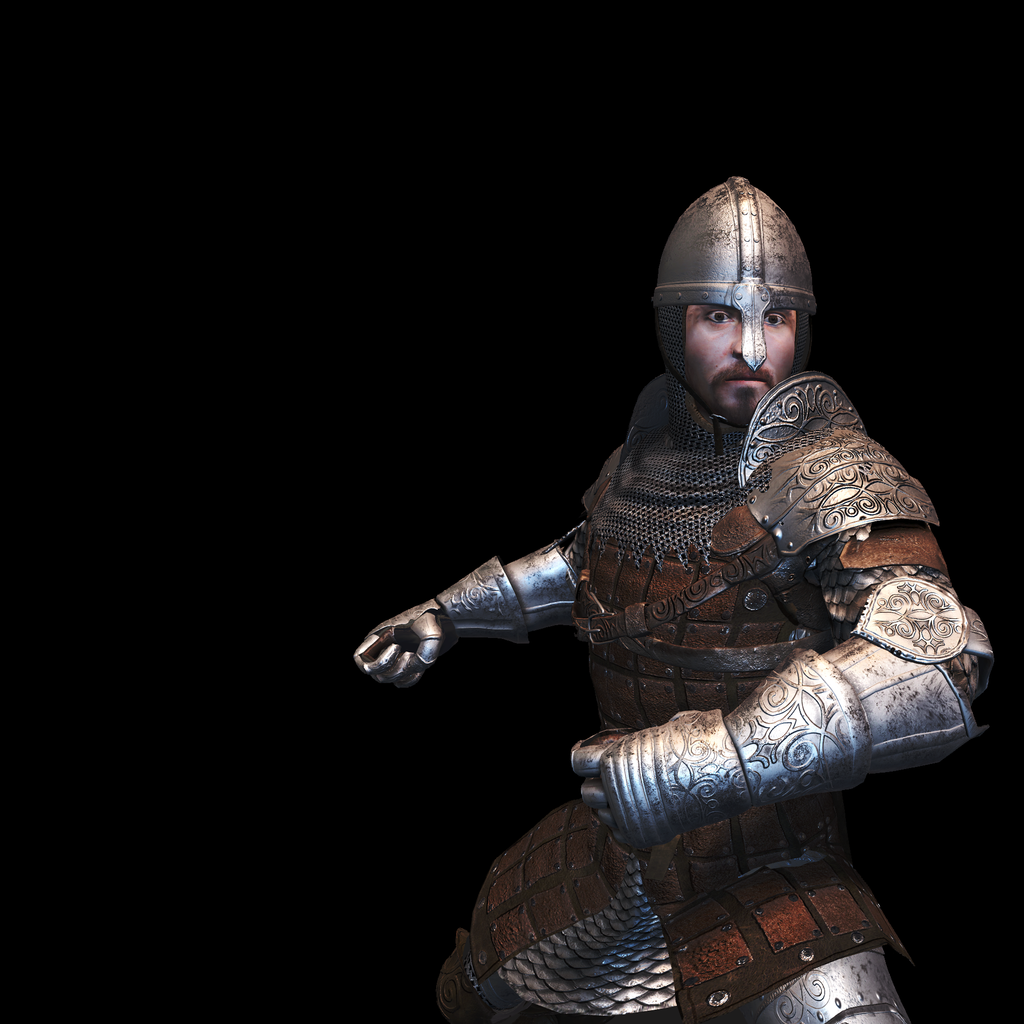 Medieval Knight N for UNITY