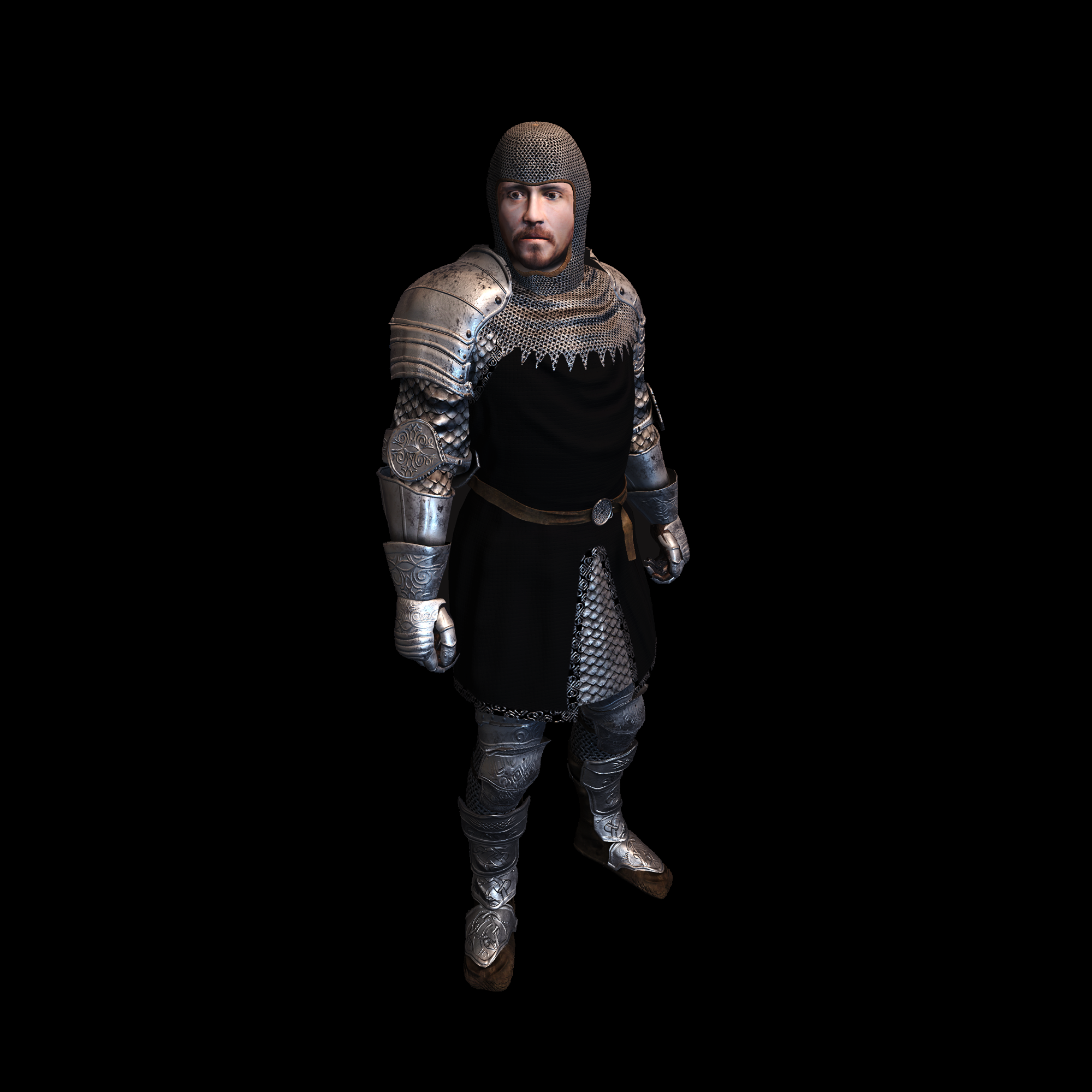 Medieval Knight O for UNITY