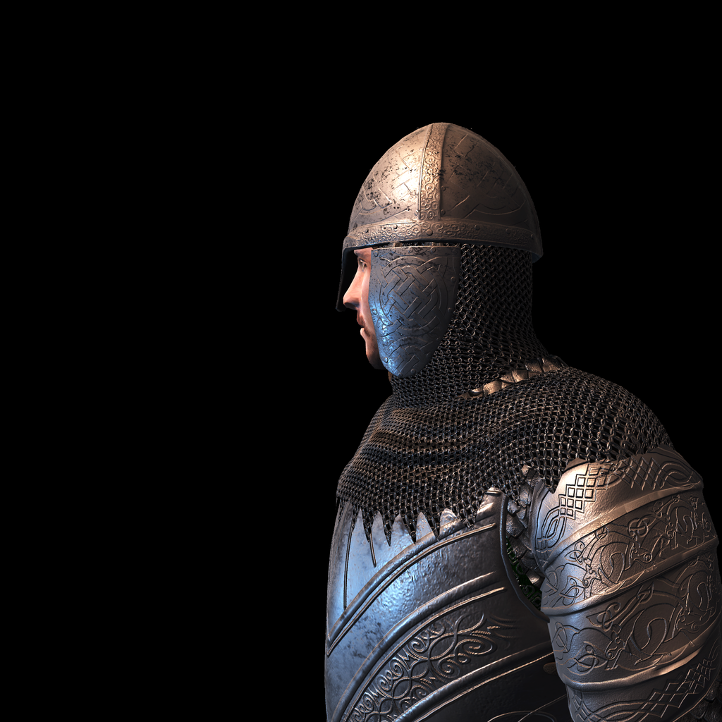Medieval Knight Q for UNITY