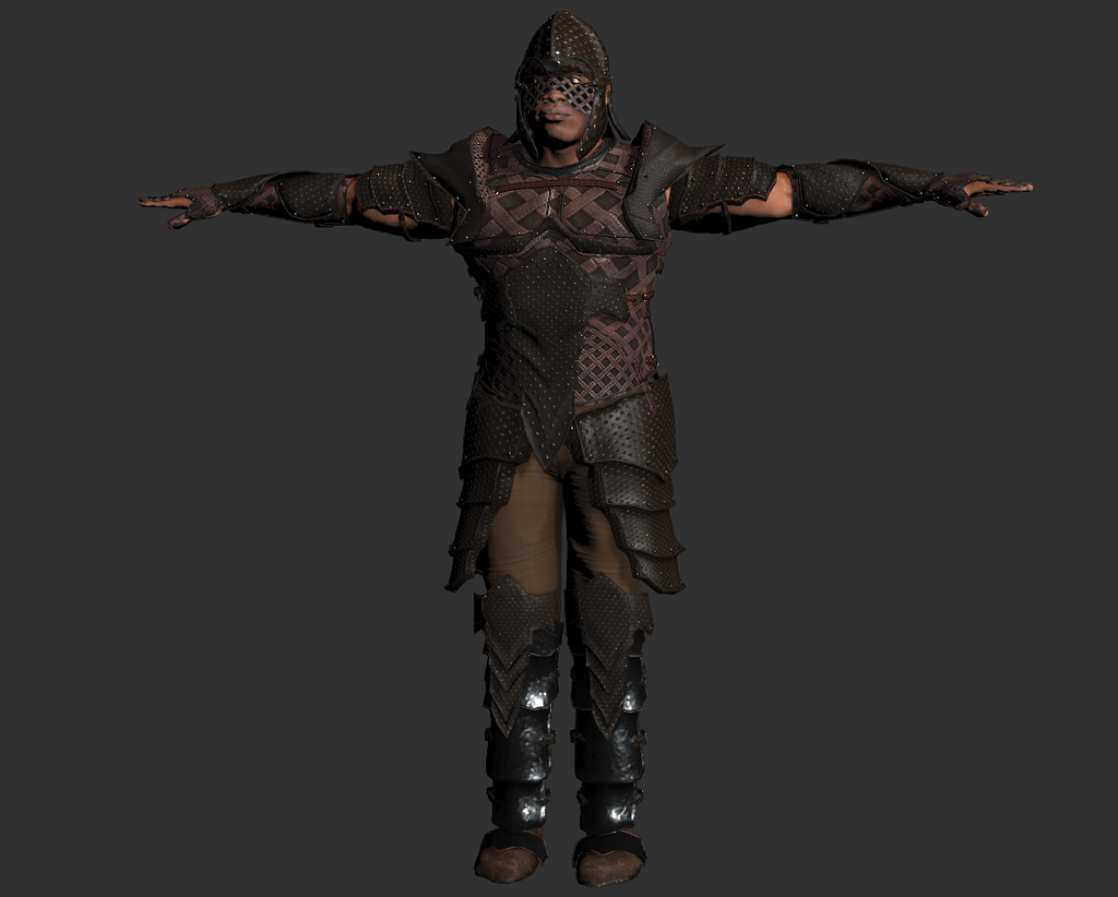 Mixamo FUSE Leather Armour Warrior released  - Unity Forum