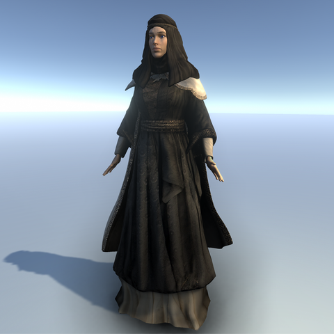 Medieval Female Costume C for UMA2.5
