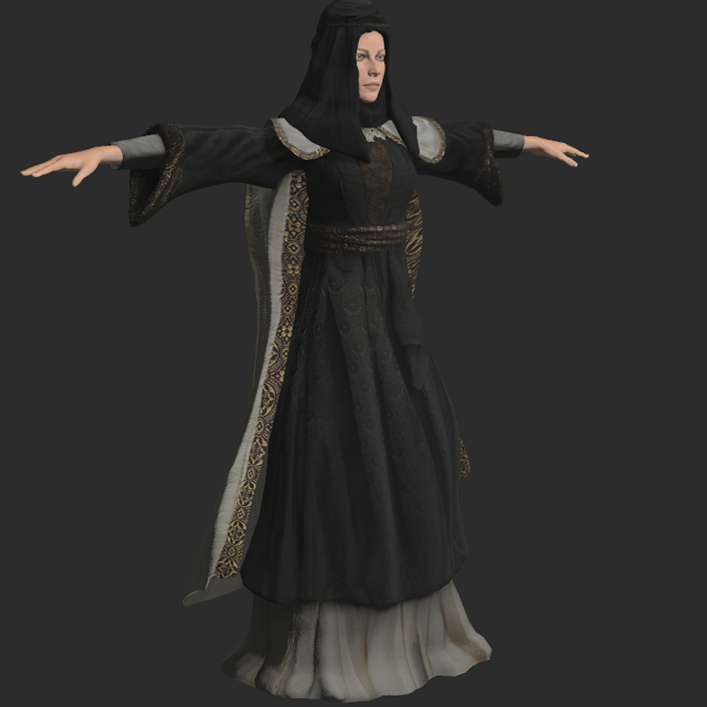 Costume Collections for Adobe/Mixamo FUSE 3D Characters