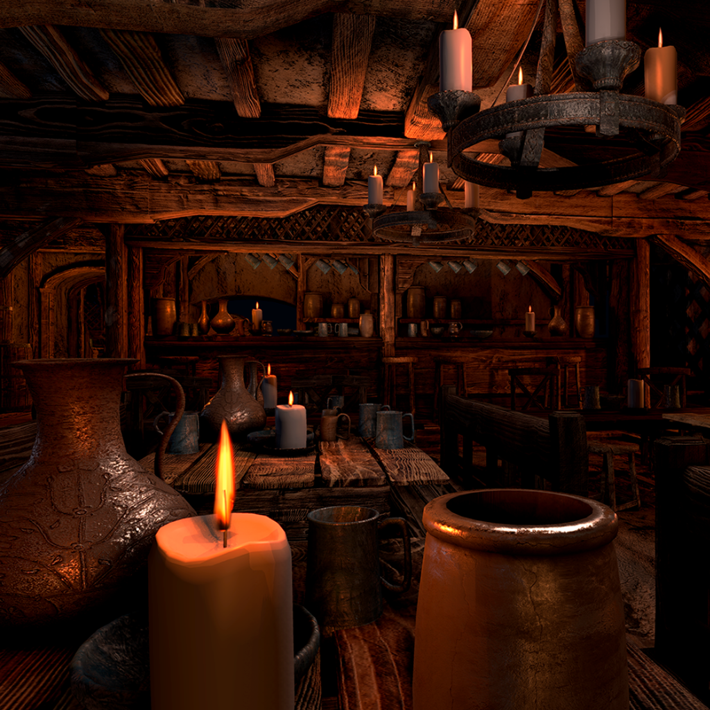Medieval Tavern For Unity 5