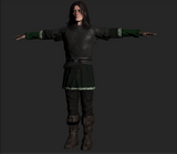 Medieval Townsman 'B'  FUSE Costume