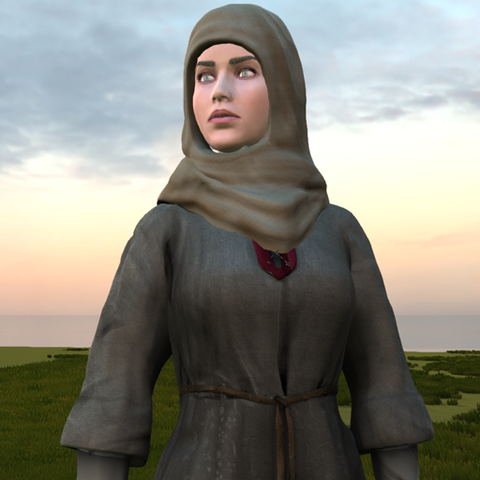 Medieval Female Costume F for UMA2