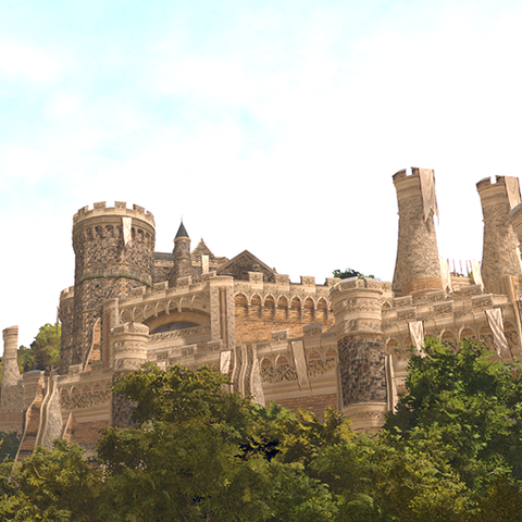 Ornate Castle for Unity 5