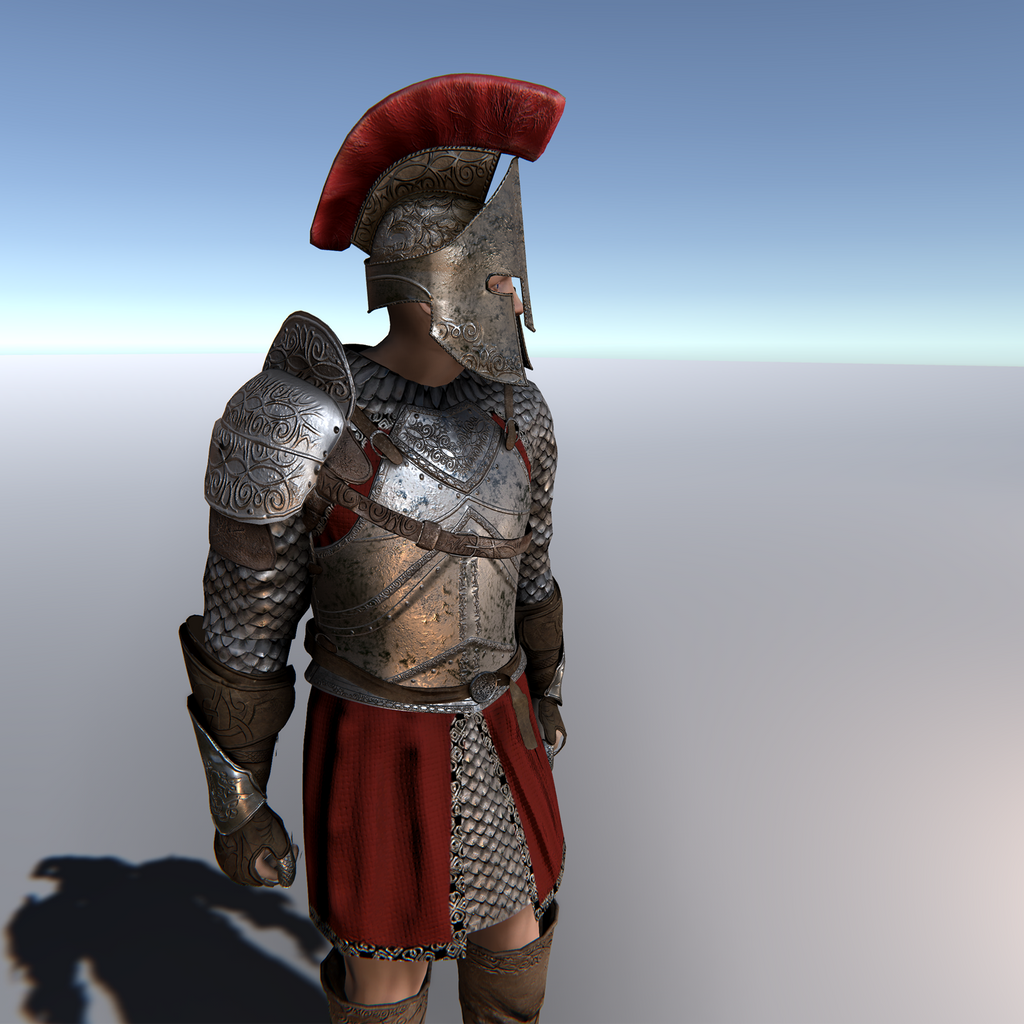 Roman Gladiator for Unity UMA 2.5 and above