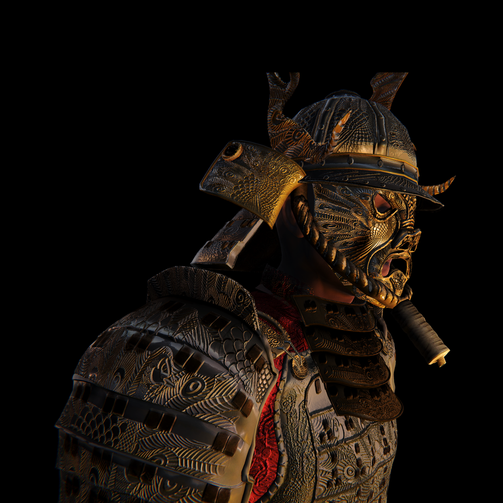 Samurai Warrior for UMA2.5 and Unity Generic Mecanim Format