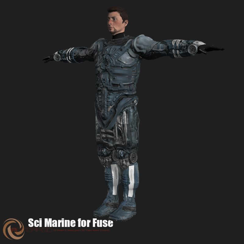 FUSE Costumes - Great for use in Iclone