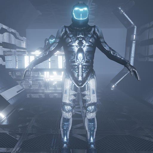 Scifi Marine for UNREAL ENGINE 4 Mannequin