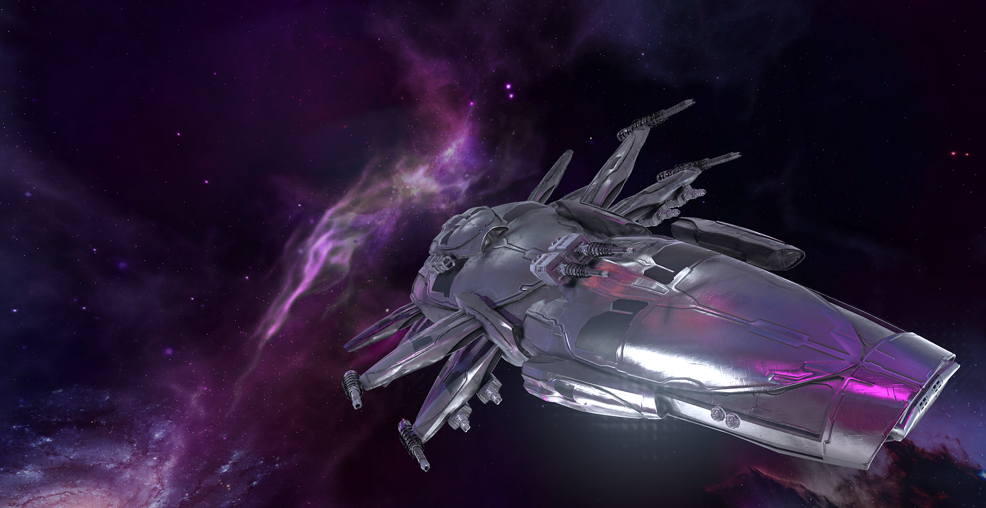Seeker SciFi Ship