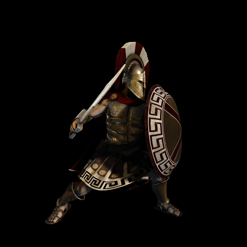 Spartan Warrior for UNITY