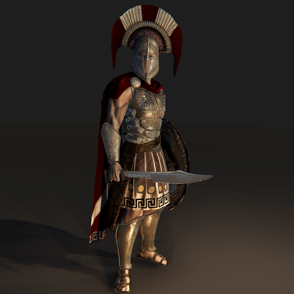 Spartan Warrior for Unity UMA 2.5 and above