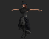 SteamPunk Victorian Lady for FUSE
