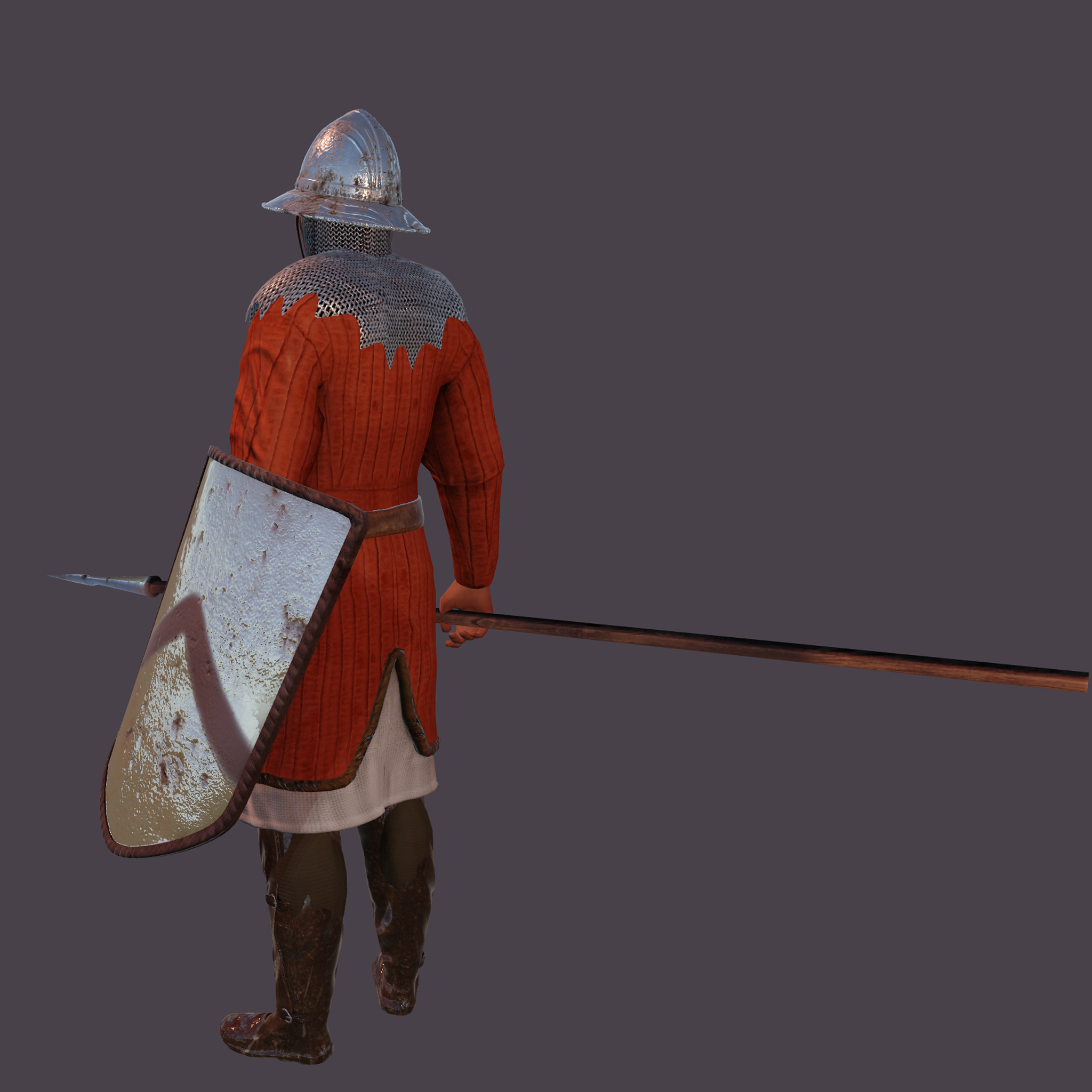 The Gambeson for Unity UMA