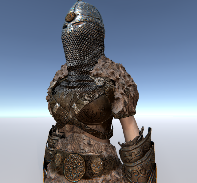 The Warrior(Female Version)  for UMA 2.5 and above