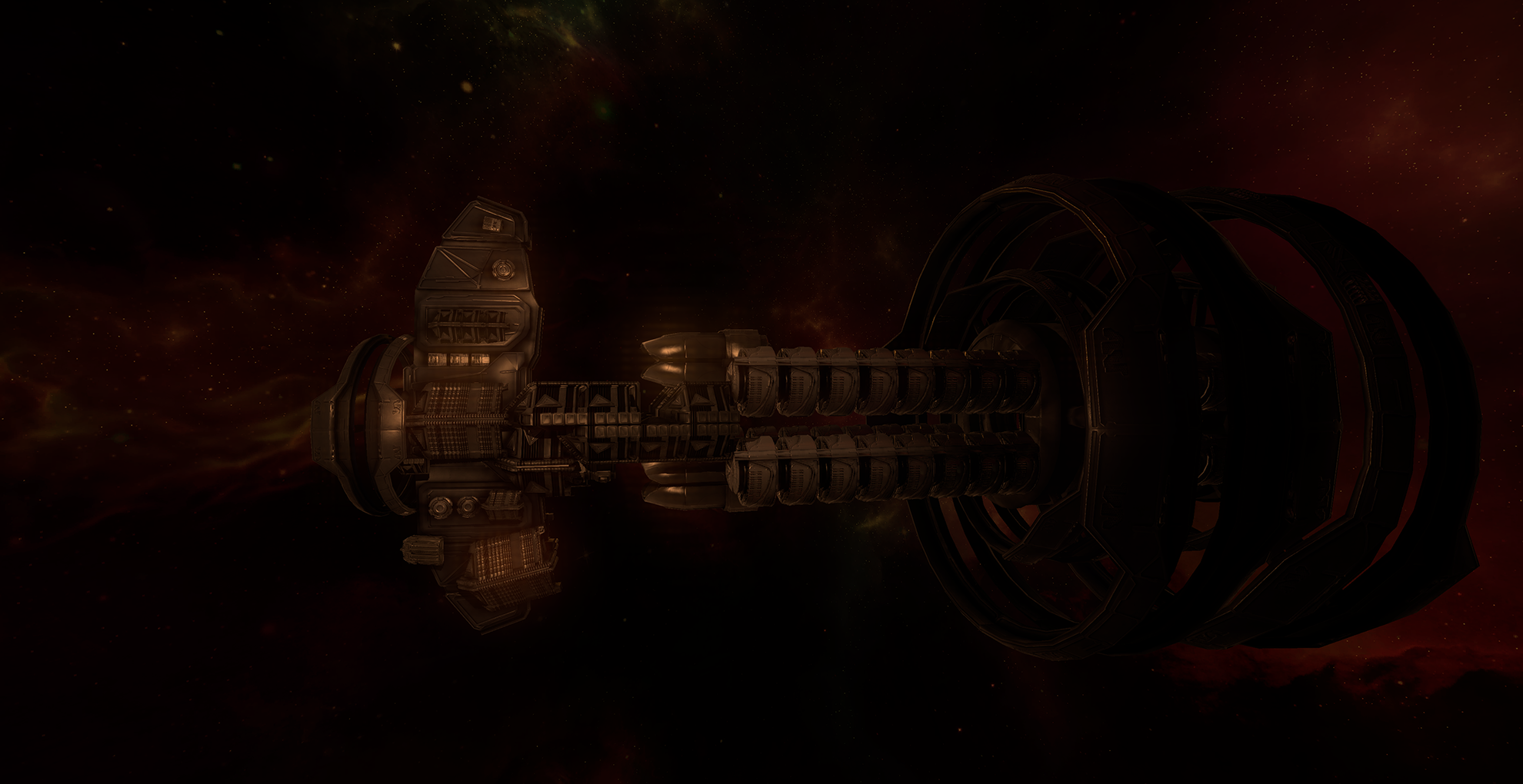 The Sevia(Deep Space Exporation Ship)
