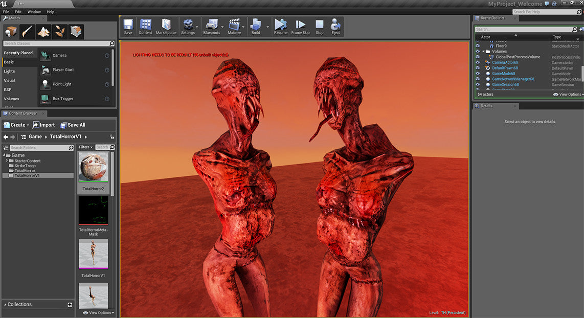 Total Horror for Unreal 4