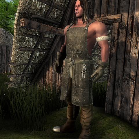 Medieval BlackSmith for UMA2