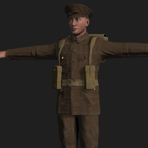WW1 Brittish Army Outfit
