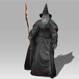 The Old Wise Wizard