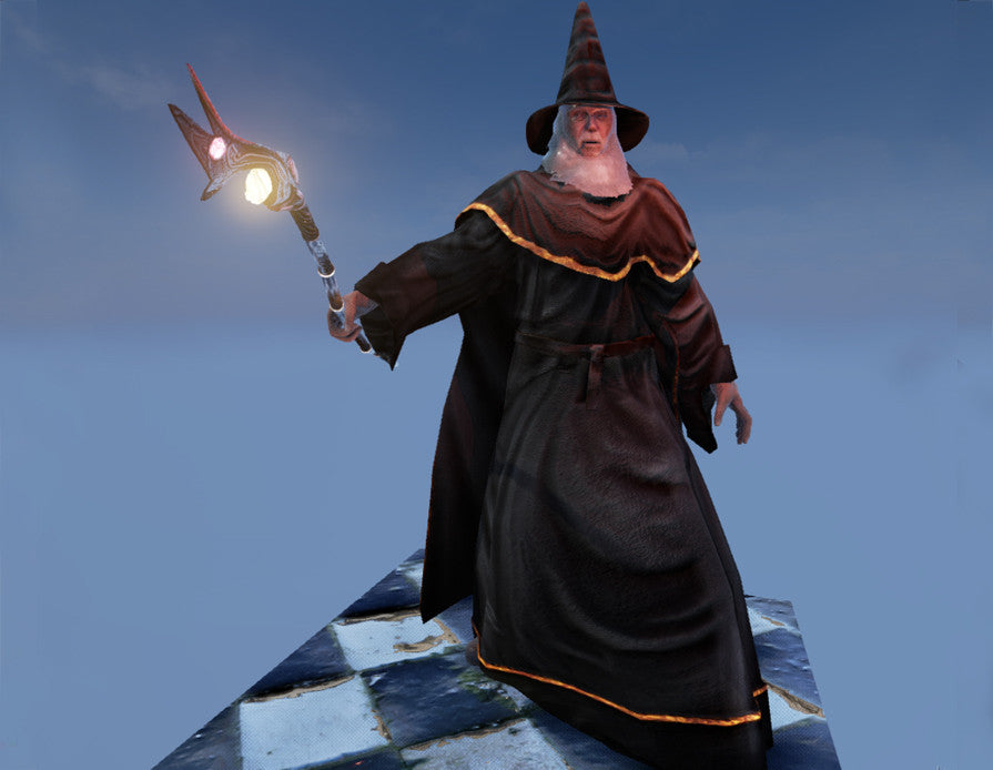 Old WIse Wizard for Unreal Engine 4