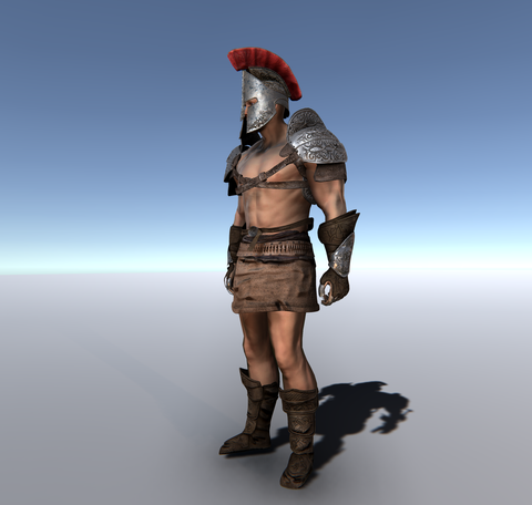 KNIGHT CUSTOMISABLE MODULAR Character for UMA & UNITY