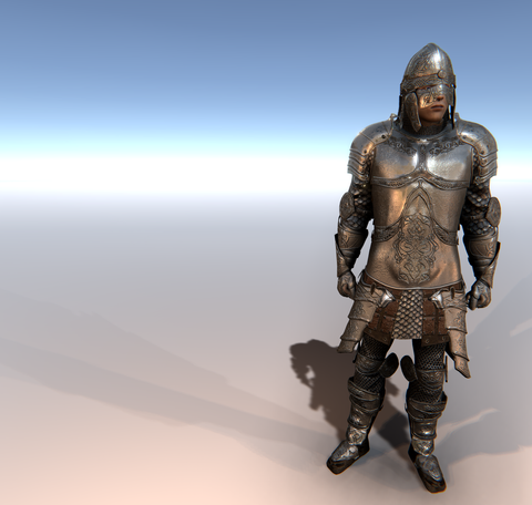 Knight D for Unity UMA 2.5 and above