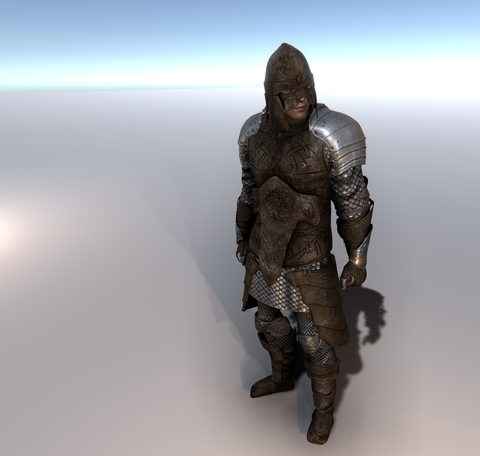 Leather Warrior for Unity UMA 2.5 and above