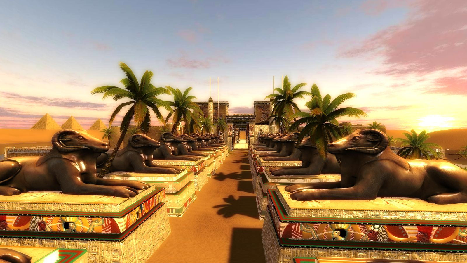 Leadwerks Egypt Map Pack