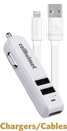cellhelmet Car and Wall Charger Solutions