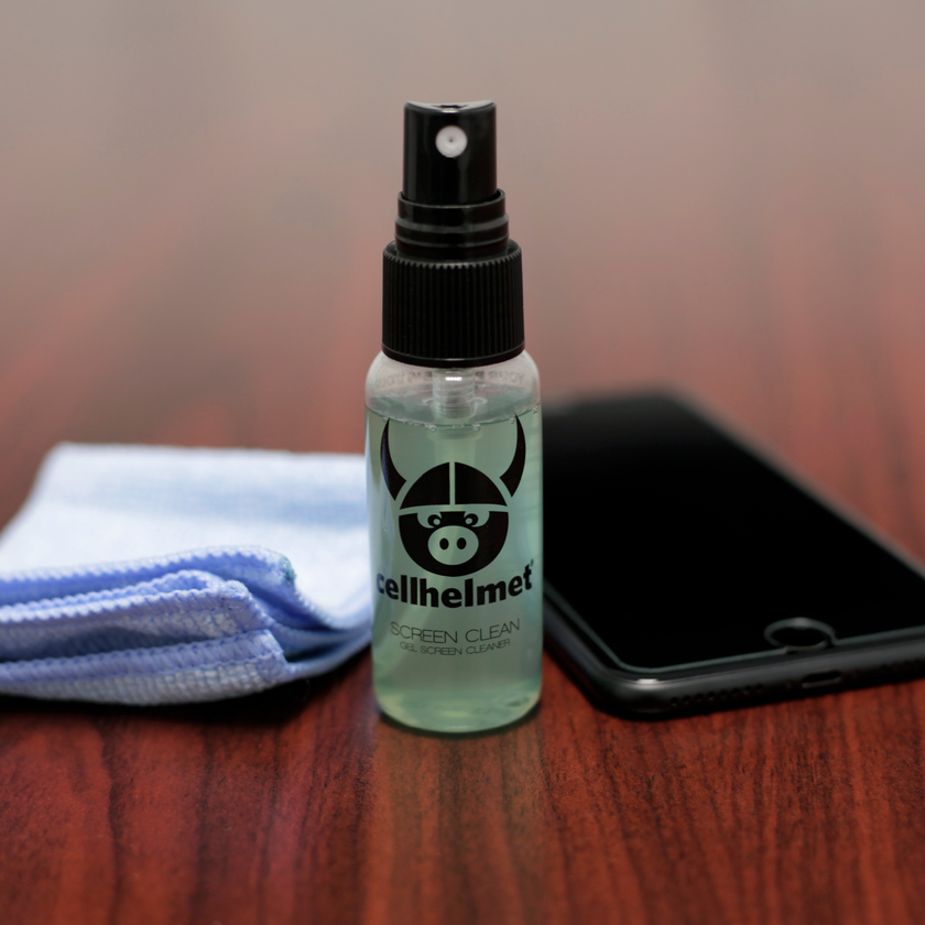 Cleaning Solution for Samsung Galaxy and Apple iPhone by cellhelmet
