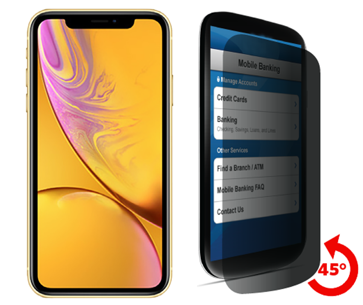 new styles adc82 956fd Apple iPhone XR Privacy Tempered Glass