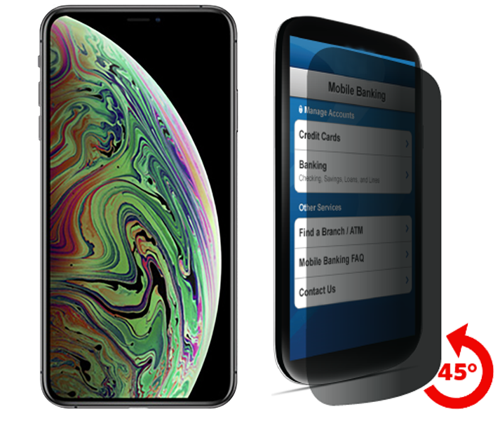low priced e1cef 2e8d6 Apple iPhone XS Max Privacy Tempered Glass
