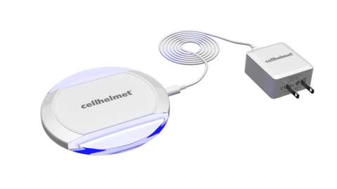 Qi Wireless Charger by cellhelmet - As Seen On Shark Tank