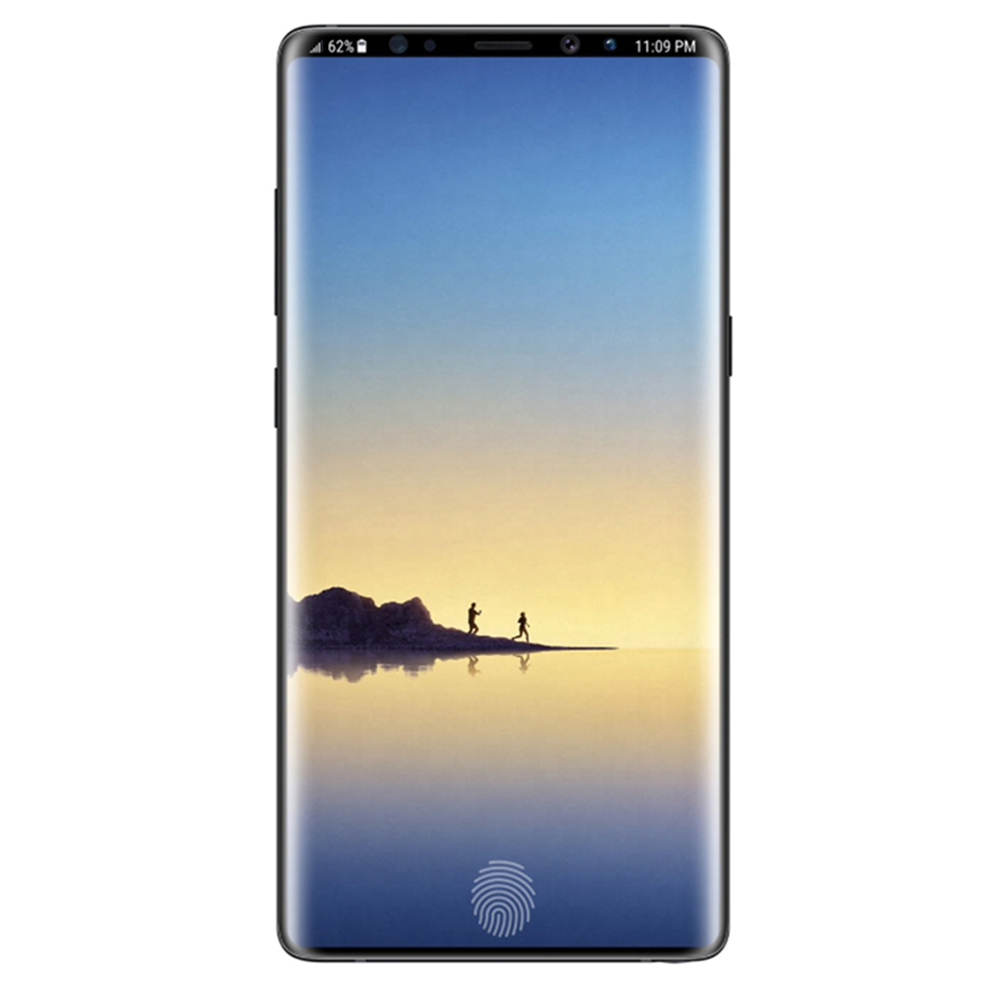 separation shoes 0f288 8cef5 Samsung Galaxy Note 9 3D Curved Tempered Glass (black - case friendly)