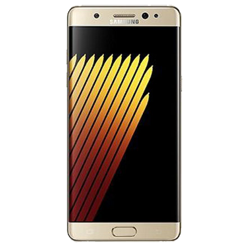 Gold Tempered Glass for Galaxy Note 7