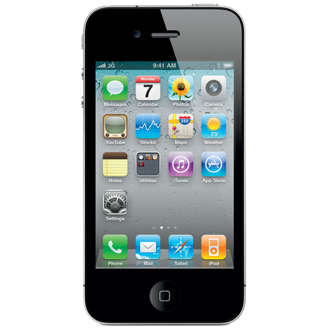 Tempered Glass by cellhelmet for iPhone 4S/4