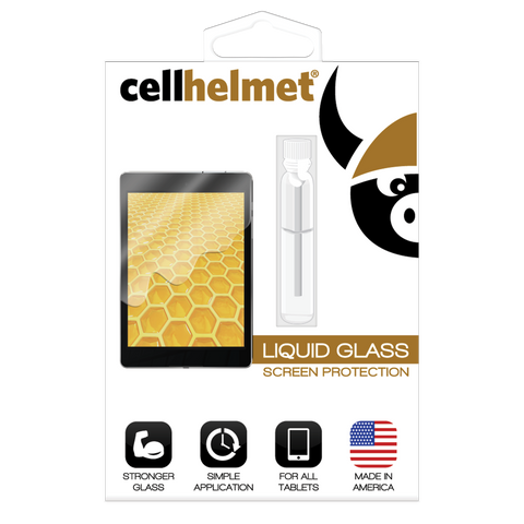 cellhelmet Liquid Glass Screen Protector for Tablets