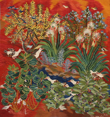 Nagah Ibrahim, Birds and Pond, 2015