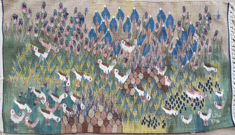 "CDG.4, Halawa Mohamed, ""Garden of Pigeons, 2015, Cotton"
