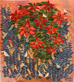Poinsettia. 2017, by Basima Mohamed